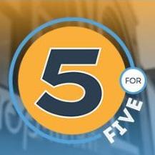 5 for 5 logo thumb