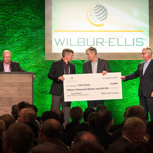 WECO Wilbur-Ellis Corporate Meeting Awards