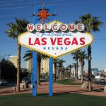 Law Vegas Welcome Sign IMAX exhibition for incentive travel