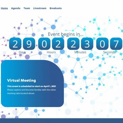 virtual medical meeting countdown
